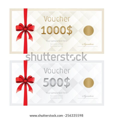 Blank Check Template Photos RoyaltyFree Images and Vectors – Prize Voucher Template