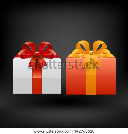 Gifts. Vector - stock vector