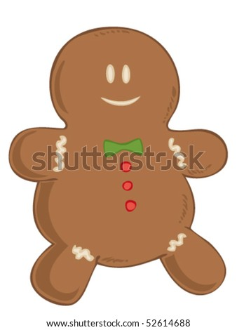 Gingerbread. - stock vector