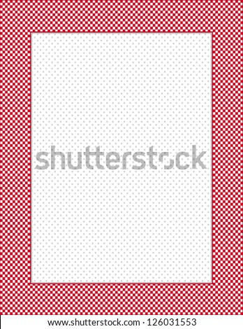 Red Gingham Border Stock Images, Royalty-Free Images & Vectors ...