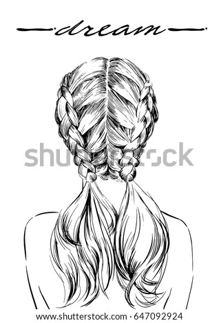 french braid stock images royaltyfree images amp vectors