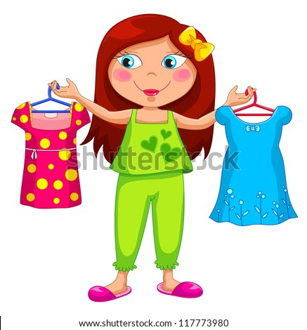 Girl Picking Out Clothes Related Keywords Suggestions Girl