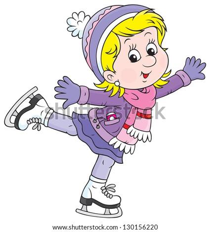 skating cartoon stock images  royalty free images ice skating clipart images free ice skating clipart free
