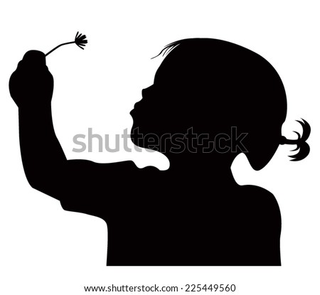 Stock Images similar to ID 43222543 - girl with dandelion