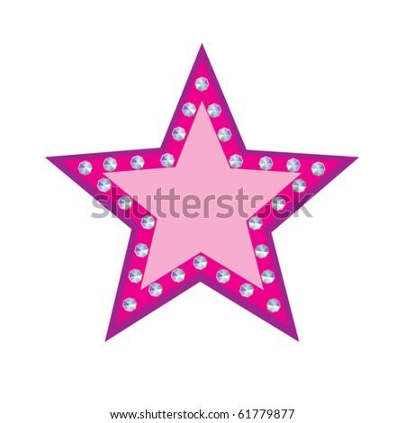 Glamour vector stars - stock vector