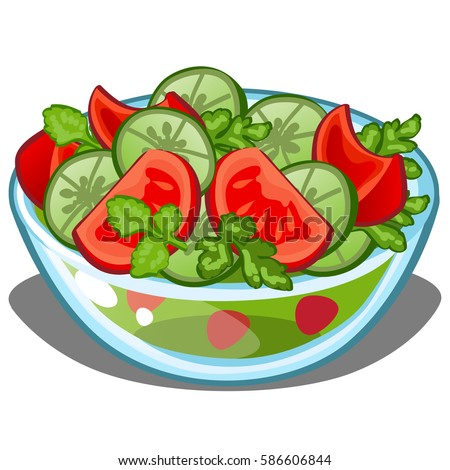 ... . Delicious and healthy food. Cartoon vector close-up illustration