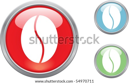 glass objects isolated on white