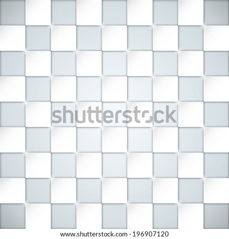 Glassy boxes blocks vector background - stock vector