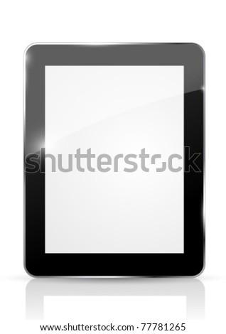 Glassy frame - stock vector