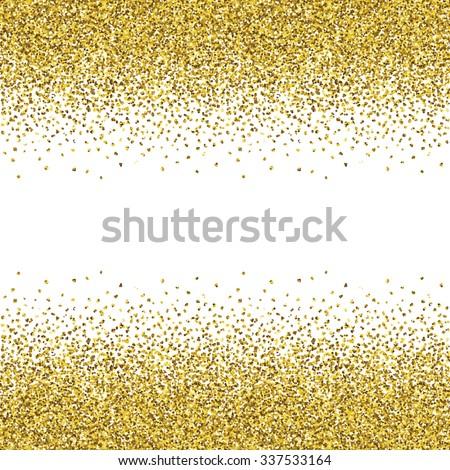 Glitter seamless texture. Trendy modern vector illustration. - stock vector