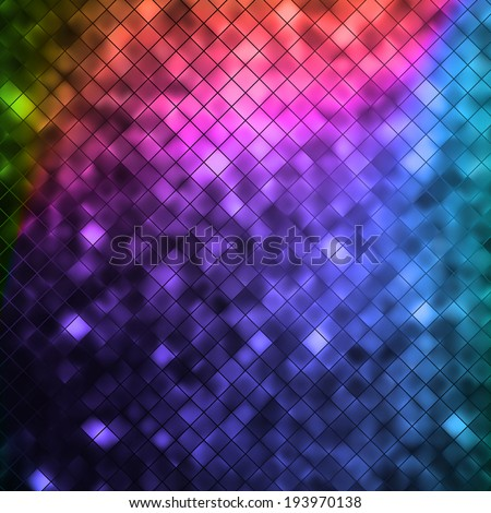 Glitters on a soft blurred background with smooth highlights. EPS 10 vector file included - stock vector