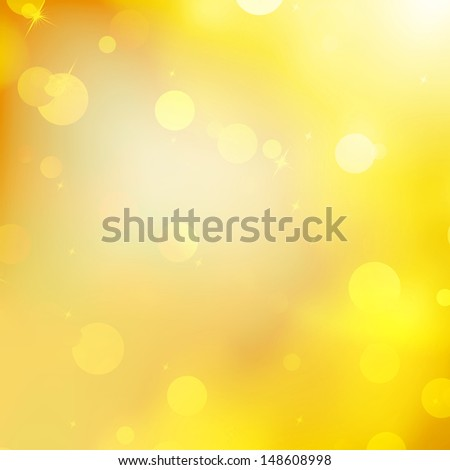 Glittery gold Christmas background. EPS 10 vector file included