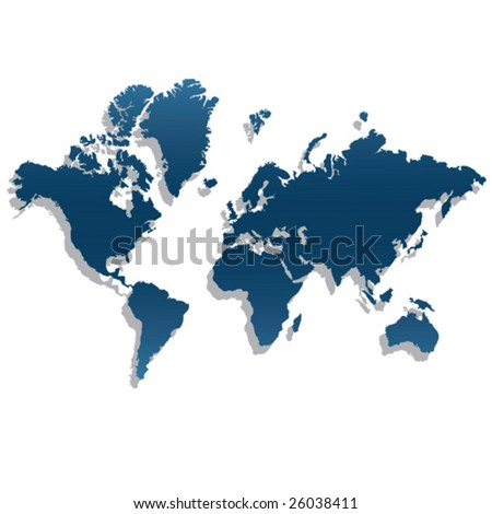 global - stock vector