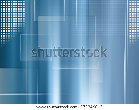 Global business background blue - abstract technology and finance template