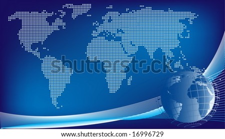 Global design background