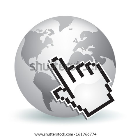 Global Networking - stock vector