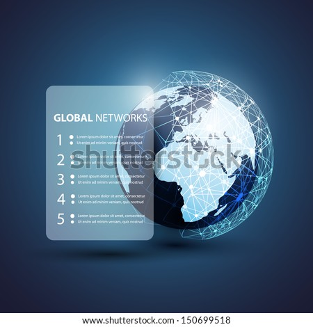 Global Networks | Eps 10 Vector for Your Business - stock vector