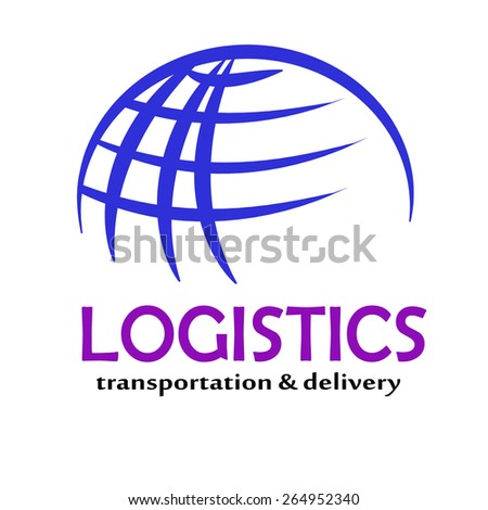 Global transportation vector icons - stock vector