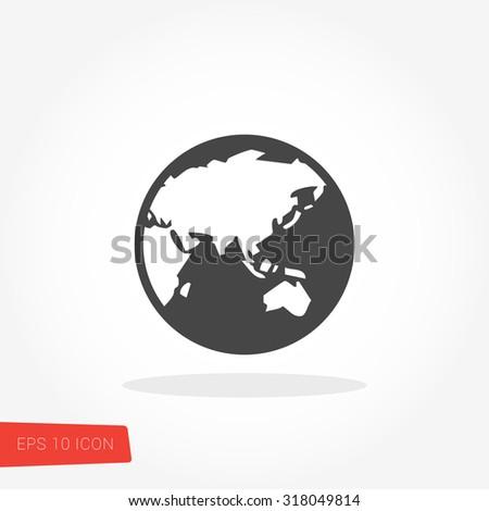 Globe Icon / Globe Icon Vector / Globe Icon Picture / Globe Icon Drawing / Globe Icon Image / Globe Icon Graphic / Globe Icon Art / Globe Icon JPG / Globe Icon JPEG / Globe Icon EPS / Globe Icon AI - stock vector