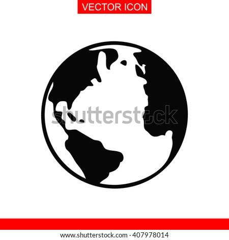 Globe Icon. Globe Icon Vector. Globe Icon Sign. Globe Icon Picture. Globe Icon Image. Globe Icon Illustration. Globe Icon JPEG. Globe Icon EPS. Globe Icon Design. Globe Icon Button. Globe Icon Symbol. - stock vector