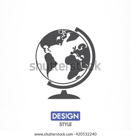 Globe icon, Globe pictograph, Globe web icon, Globe icon vector, Globe icon eps, Globe icon illustration, Globe icon picture, Globe flat icon, Globe design icon, Globe icon art, Globe icon jpg - stock vector