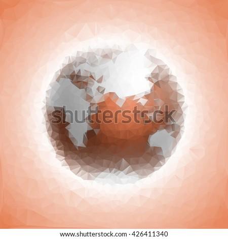 Globe icon Triangulation Earth Icon Vector. Earth Icon JPEG. Earth Icon Object. Earth Icon Picture. Earth Icon Image. Earth Icon Graphic. Earth Icon Art. Earth Icon. Earth Icon AI. Earth Icon Drawing - stock vector