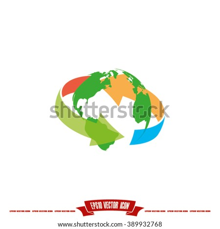 Globe Icon Vector. Globe Icon JPEG. Globe Icon Object. Globe Icon Picture. Globe Icon Image. Globe Icon Graphic. Globe Icon Art. Globe Icon JPG. Globe Icon EPS.  - stock vector