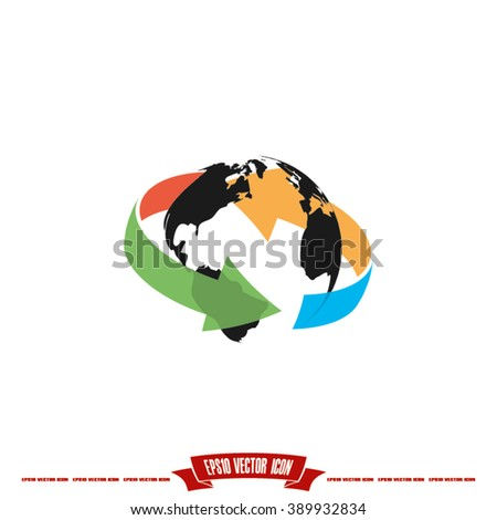 Globe Icon Vector. Globe Icon JPEG. Globe Icon Object. Globe Icon Picture. Globe Icon Image. Globe Icon Graphic. Globe Icon Art. Globe Icon JPG. Globe Icon EPS.  - stock vector