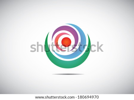 globe icon, web - stock vector