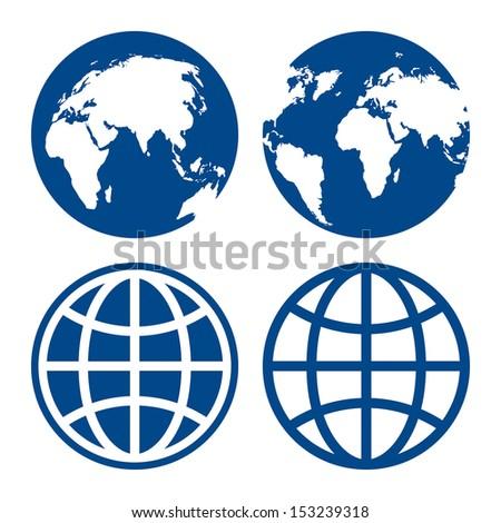 Globe vector logo