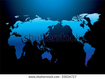 Globe world - stock vector