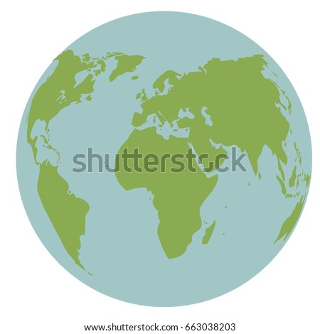 globe world earth map global continent