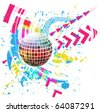 Glossy colorful abstract globe - stock photo
