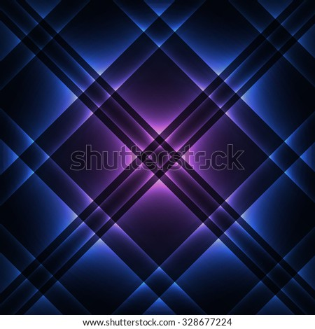 Glowing pattern abstract vector background, eps10 - stock vector
