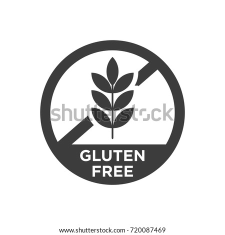 gluten free icon vector illustration stock vector