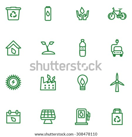 Go Green Icons