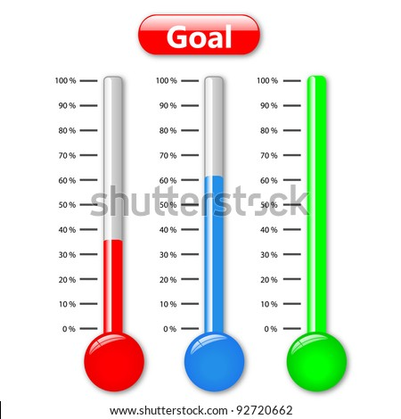 Fundraising Thermometer Stock Images, Royalty-Free Images ...