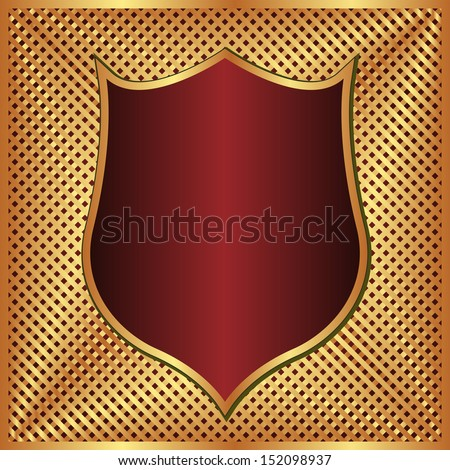 gold and maroon background