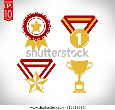 Gold Award Icons