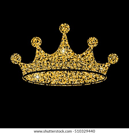 Gold crown background - photo#49
