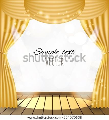 Curtains Ideas curtains background : Pink Curtains Vector Background Stock Vector 227008588 - Shutterstock