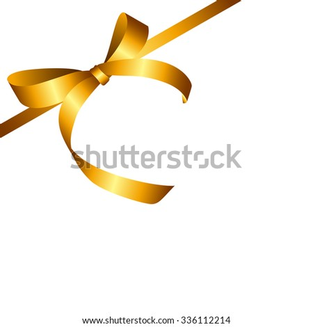 Gift ribbon stock images royalty free images vectors shutterstock gold gift ribbon vector illustration eps10 negle Images