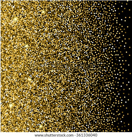 Gold glitter background gold sparkles on stock vector hd royalty gold glitter background gold sparkles on black background creative invitation for party holiday stopboris Images