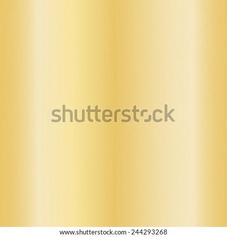 Gold metallic texture for background,Vector illustration - stock vector