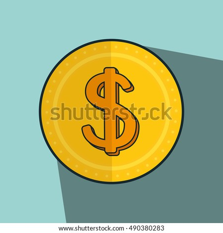 gold money coin
