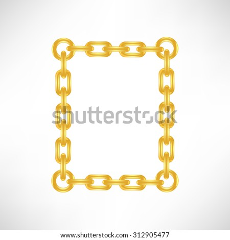 Gold Number 0 Isolated on White Background