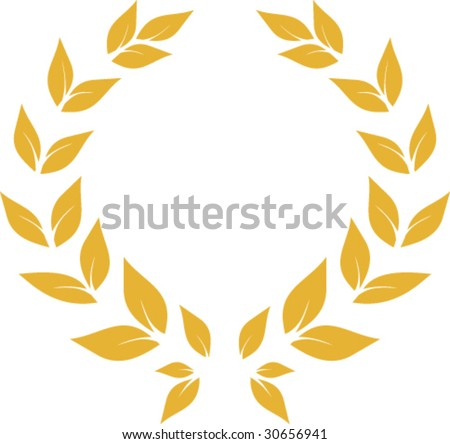 gold prize - stock vector