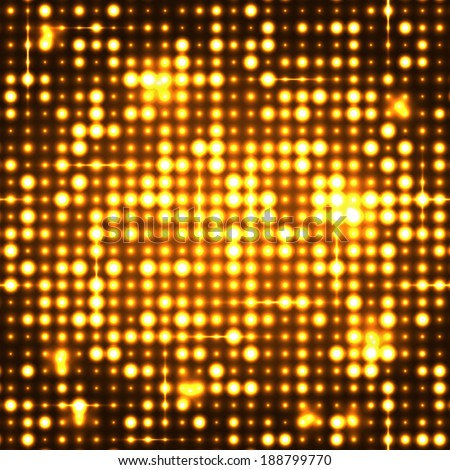 Gold seamless shimmer background with shiny silver and black paillettes. Sparkle glitter techno background. Glittering sequins club screen. Abstract technology background, - stock vector