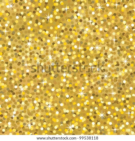 Gold Glitter Vector Gold Sparkle Glitter Seamless