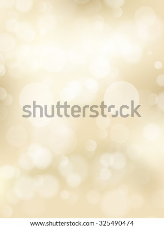 Gold spring or summer background. Elegant abstract background with bokeh defocused lights. EPS 10 vector file - stock vector